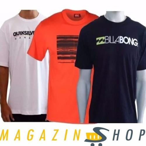 Camiseta Masculina De Marca Atacado Revenda Kit C/ 10 Camisa