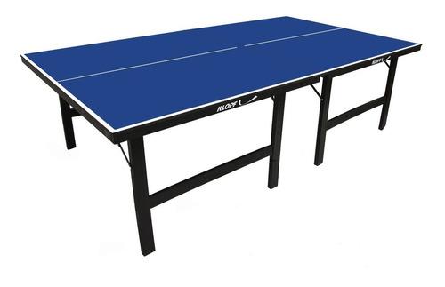 Mesa Tenis Mesa Ping Pong 18mm Mdf Dobravel Klopf 1019 Ofici
