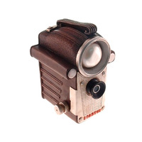 Cofre Câmera Filmadora Retrô Em Resina