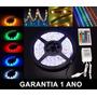 Fita Led Ultra Rgb 3528 12v Rolo 5 Metros + Controle Ip65