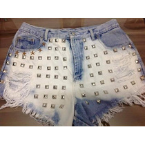 Shorts Customizado Destroyed Hot Pants