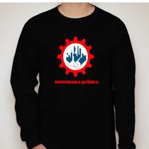 Camiseta Manga Longa Curso Engenharia Química