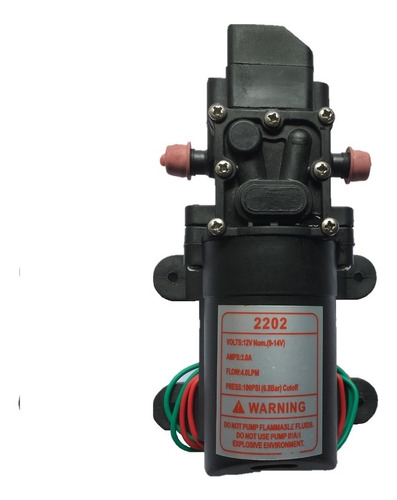 Bomba 12v/100psi Pulverizador Elétrico- Pronta Entrega!