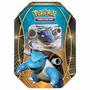 Novo Lacrado Pokémon Card Game Lata Power Trio Blastoise Ex