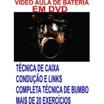 Video Aula De Bateria Em Dvd Frete Grátis.