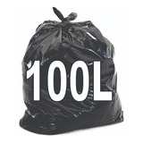 Saco De Lixo 100 Litros Resistente 100 Unidades