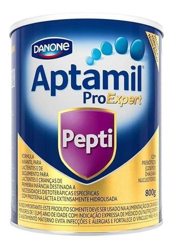 Fórmula Infantil Em Pó Danone Aptamil Proexpert Pepti Em Lata De 800g