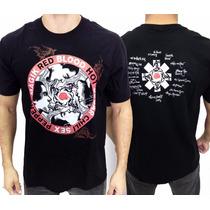 Camiseta De Banda - Red Hot Chilli Peppers - Blood Sugar