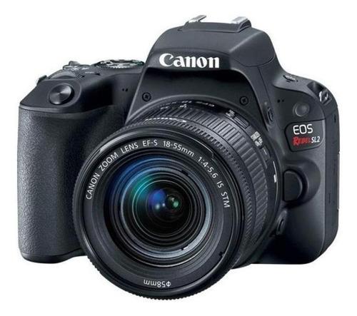 Canon Eos Rebel T7 18-55mm Is Ii Kit Dslr Preta