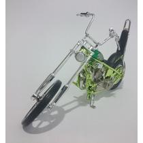 Miniaturas Moto Iron Choppers 1:18 Motor Max
