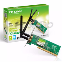 Adaptador Wireless 300mbps Pci Tp-link Tl-wn 851nd  Wi Fi