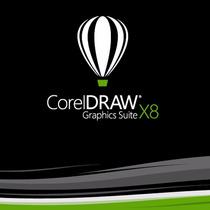 Corel Draw X8 - 32 E 64 Bits - Idioma Português Registrado