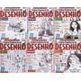 Curso Completo De Desenhos Apostilas E books 6 Vols. Leia