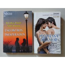 Lote Com 2 Livros Romance Sabrina