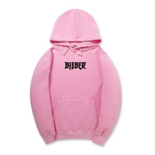 9dd194458b749 Blusa Moletom Justin Bieber Rosa Pink Canguru Capuz Unissex