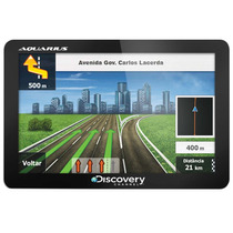 Gps Automotivo Aquarius Discovery Channel 4.3 Slim
