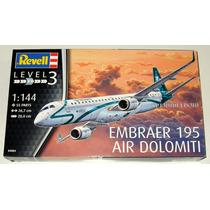 Avião Comercial Embraer 195 - Kit 1/144 Revell 04884