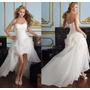 Vestido Noiva Debutantes Mullet Pronta Entrega Frete Grátis
