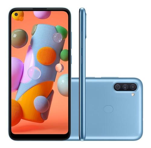Celular Samsung Galaxy A11 Dual 6.4  64gb 3gb Ram Azul