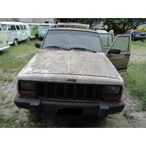 Jeep Cherokee Sucata Para Retirada De Peças