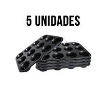 Kit Com 5 Formas Para Para 60 Cupcakes + Frete Grátis