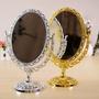 Espelho Grande Maquiagem Provençal Retro De Mesa Dois Lados