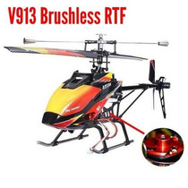 Helicóptero V913 Brushless Version 4-ch 2.4ghz Rtf