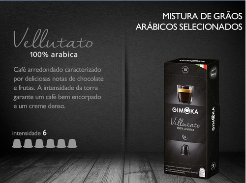 Kit 150 Cápsulas Café Compatíveis Nespresso - Gimoka