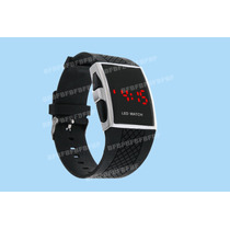 Relógio Digital De Led - Pulso Masculino - Led Watch