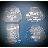 Medalhas Ps4 Xbox Cartola Personalizada Como Quiser