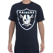 Camiseta Masculina New Era Especial Foil Raiders