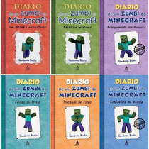 Kit Diário De Um Zumbi No Minecraft - 6 Livros