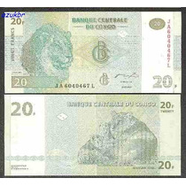 * Congo - 10 E 20 Francos 2003 - P.93 E P.94 - Fe *