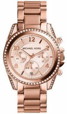 4e1ffe2b0 Relógio Michael Kors Mk5263 Rose Blair Glitz