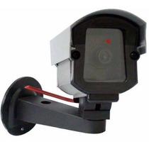 Kit 02 Câmera Segurança Falsa Bivolt + Placa Sorria (grátis)