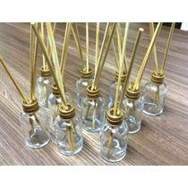 Kit Frasco Difusor/aromatizador De Vidro 30ml + Varetas
