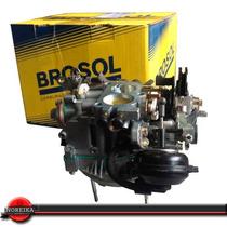 Carburador 3e Vw Santana Quantum 2.0 88/92 Gasolina 176554