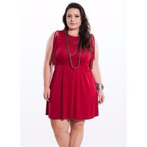 Vestido Flamê Vermelho Miss Masy Plus