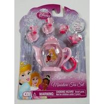 Kit De Chá * Bule Xicara Princesa Disney Para Boneca Barbie