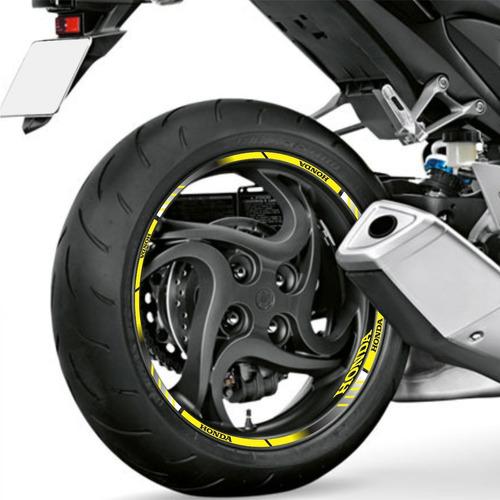 Armario Retro Quarto ~ Adesivo Friso Refletivo Degrade Roda Honda Cbr 250r Amarelo R$62 9 15VKsf Precio D Brasil