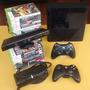 Xbox 360 Completo Escolha O Brinde Kinect, Controle Ou Jogos