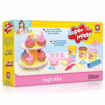 Massinha De Modelar Super Massa Cupcake Estrela