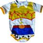 Fantasia Carnaval Body Bebê Desenho Animado Toy Story Jessie