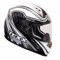Capacete Texx Race Sleek Branco 56