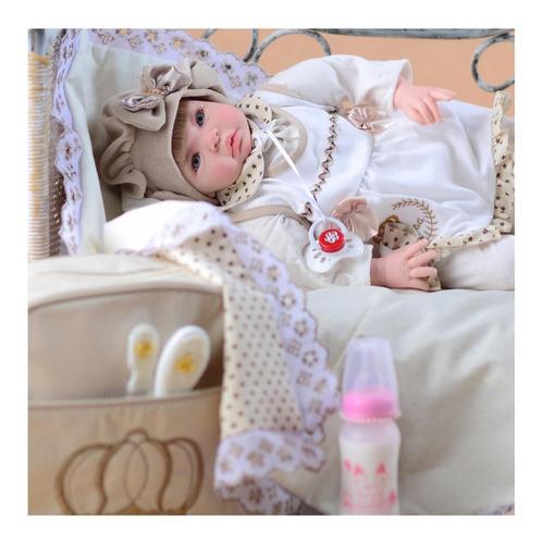 8e83fac4342e Bebê Reborn Real Menina 53cm Mais Barato Do Mundo Princesa à venda ...