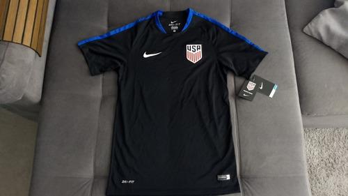 Camisa Oficial Nike Da Seleção Americana Usa Modelo Jogador 9d3e359aa97dd