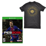 Jogo Pro Evolution Soccer 19 Pes 2019 + Camiseta - Xbox One