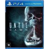 Jogo Until Dawn Playstation 4 Ps4 Mídia Física Lacrado