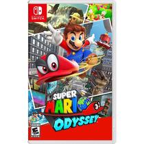 Super Mario Odyssey - Switch - Mídia Física - Pronta Entrega