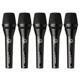 Kit C/ 5 Microfones Akg Perception P3s Com Fio